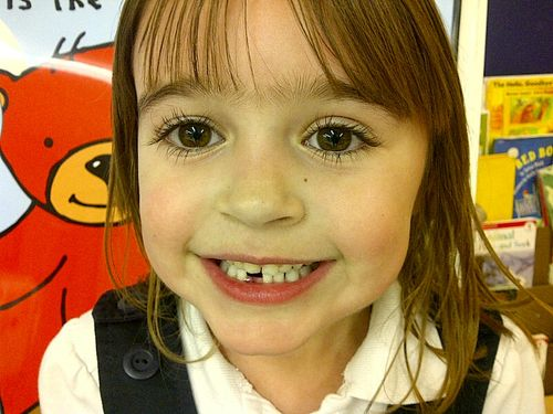 Hayley first tooth
